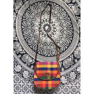 Summer's plaid• 🇬🇹 made bag